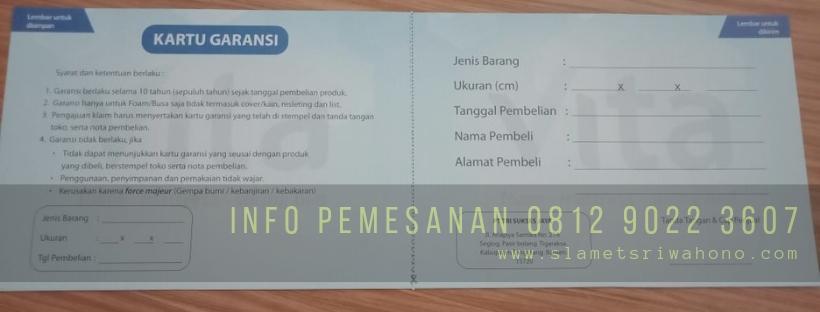 Agen Kasur Busa Inoac Trenggalek, Termurah-Free Ongkir 081290223607