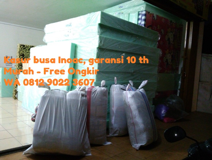 Agen Kasur Busa Inoac Karanganyar, Grosir-free ongkir wa 081290223607